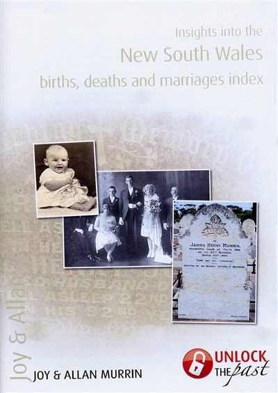 Insights into the NSW Birth, Death and Marriage Index